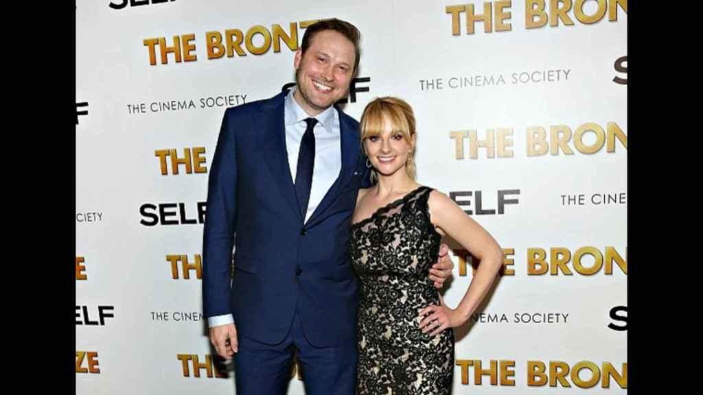 Melissa Rauch y su marido Winston Beigel.