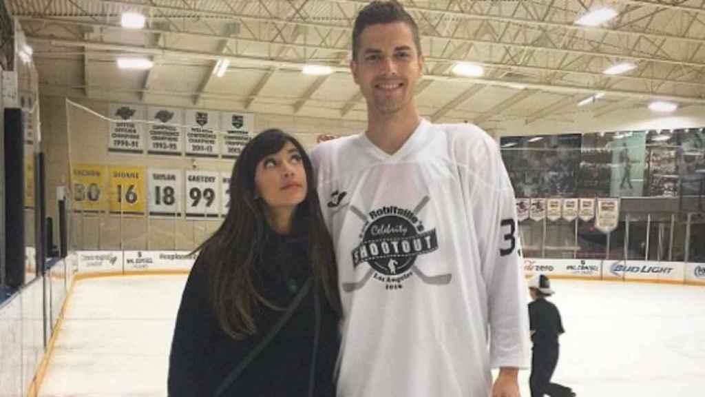 Hannah simone y marido Jesse Giddins