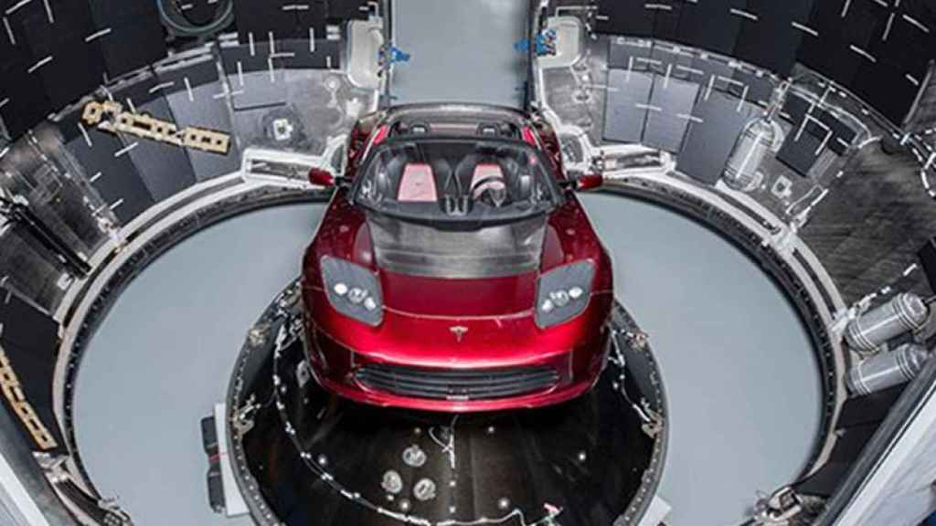 tesla roadster spacex 6