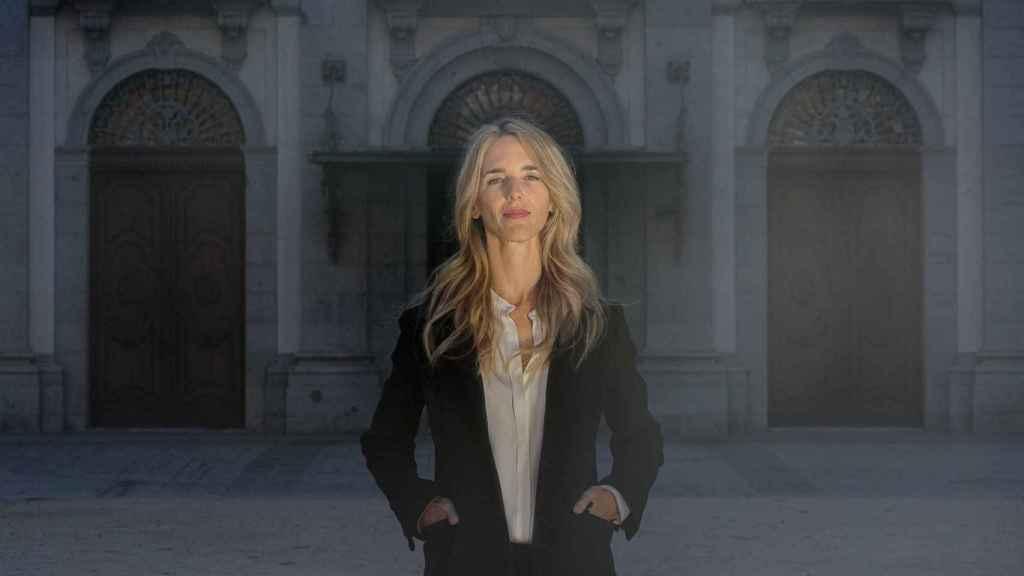 Cayetana Álvarez de Toledo, delante del Tribunal Supremo.