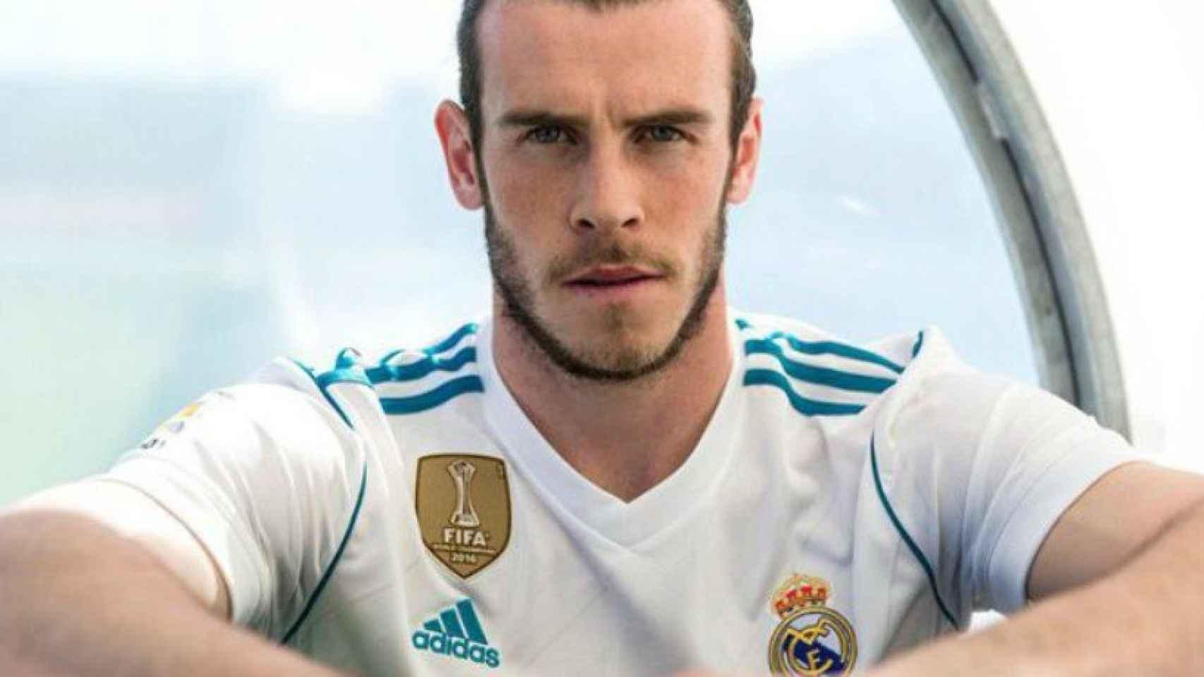 Bale presenta la nueva equipación del Real Madrid