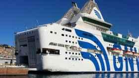 El buque Rhapsody donde se han alojado los policías.