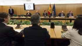 Imagen de la reunión del Pacto Antiyihadista.