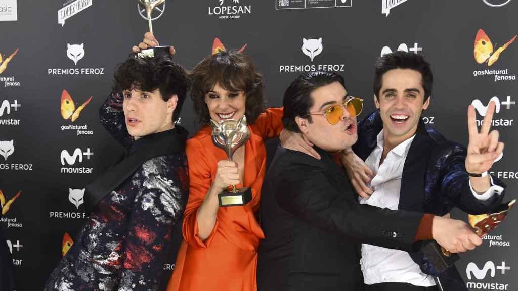 El equipo de Paquita Salas.