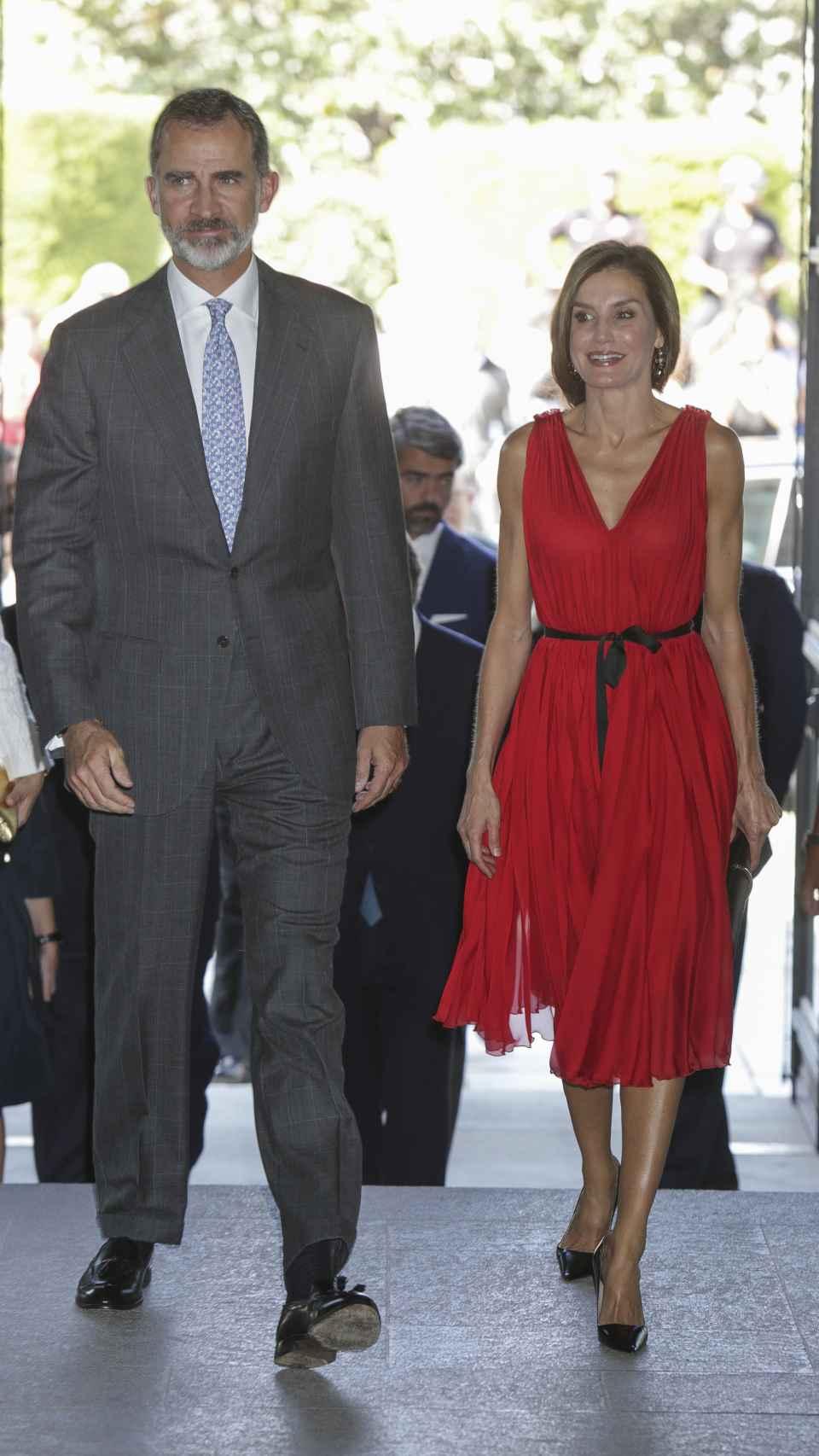 El Rey Felipe VI y Letizia.