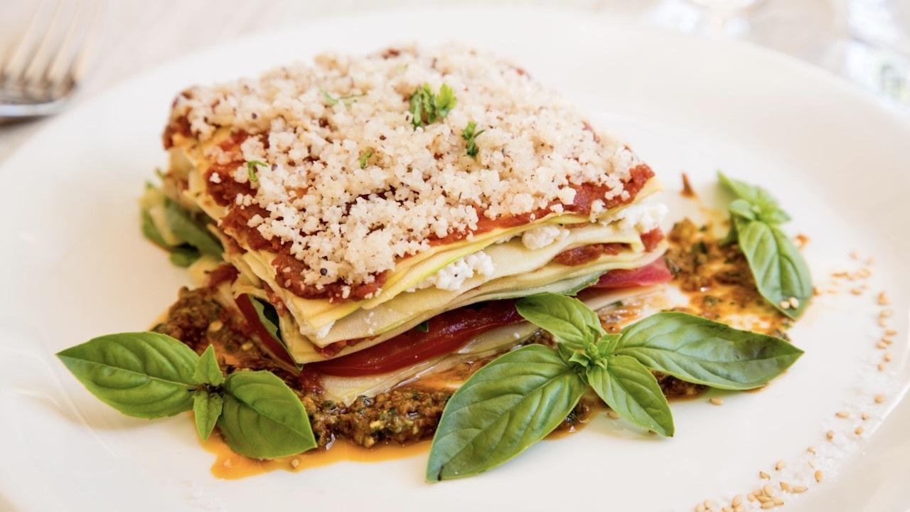 Level Veggie Bistro lasagna de verduras