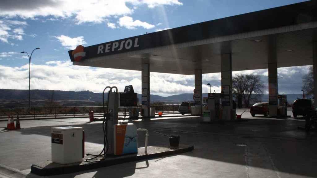 La gasolinera de Azuqueca donde trabajaba la víctima.