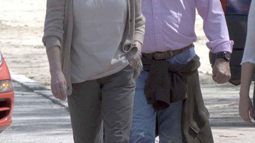 Mariola junto a Jaime M. Bordiú.