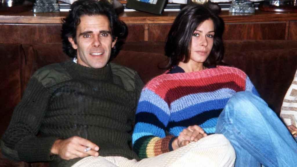 Merry junto a su marido Jimmy Giménez Arnau en 1980.
