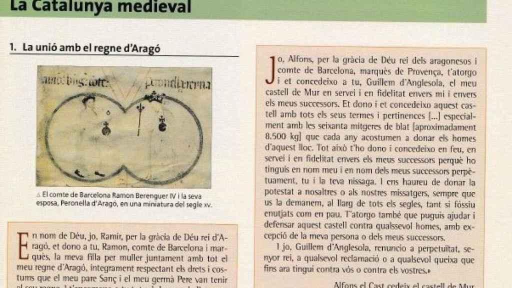 Se presupone la existencia de Cataluña en la Edad Media.