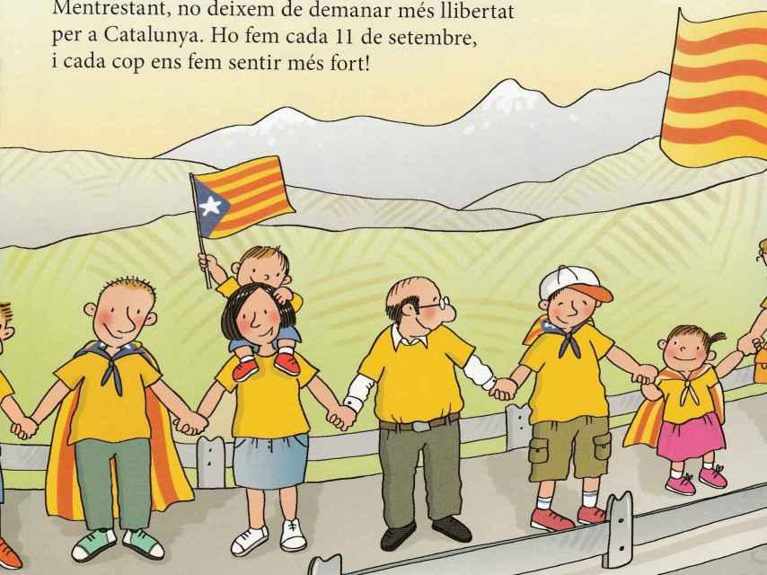 Muestra de una explicación sobre la independencia.