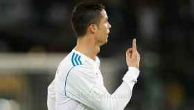 Cristiano Ronaldo celebra el gol de la victoria contra el Gremio