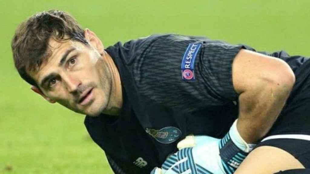 Casillas, portero del Oporto. Foto: Twitter (@IkerCasillas)