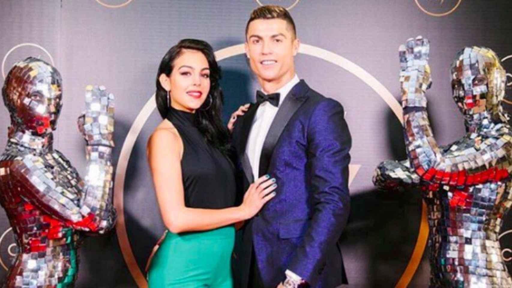Cristiano y Georgina. Foto Instagram (@georginagio)