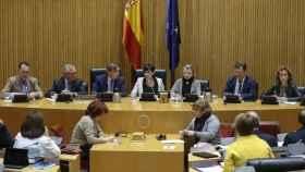 Reunión de la Comisión de Justicia del Congreso con el nuevo fiscal general./
