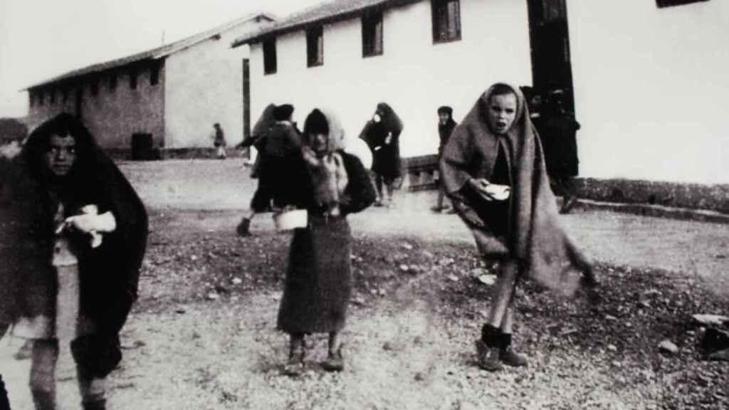 Los niños morían de frío y hambre en Rivesaltes