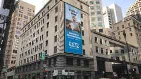 Un cartel publicitario celebra la legalización en San Francisco.