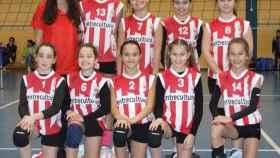 equipo alevin voleibol valladolid 1