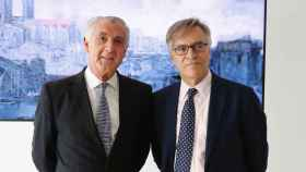 Evelio Acevedo y Guillermo Solana, responsables del Museo Nacional Thyssen-Bornemisza.