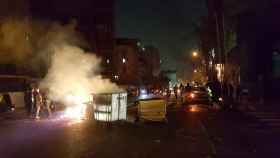 Protestas en Teheran.