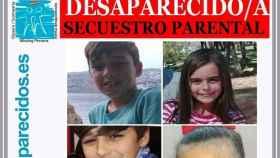 El denunciado por secuestrar a sus hijos en Sevilla dice a la Policía que los niños están con él