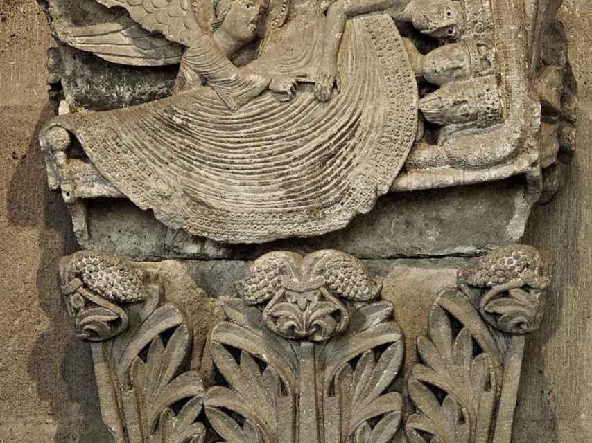 Capitel de la catedral de Autum.