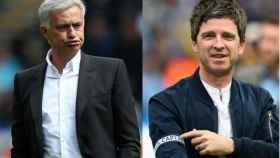 José Mourinho y Noel Gallagher.
