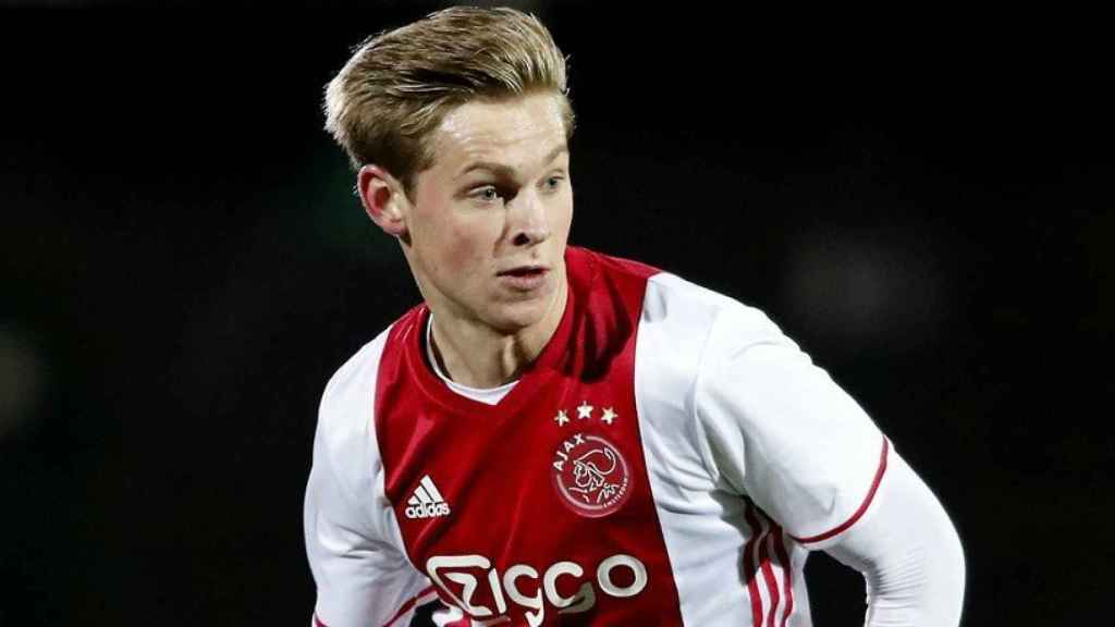 De Jong, jugador del Ajax. Foto: ajax.nl
