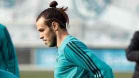 Bale entrena con el Madrid