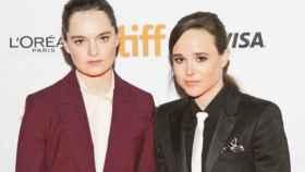 Ellen Page y Emma Portner.