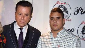Ortega Cano junto a su hijo José Fernando.