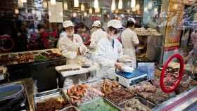 El vídeo se grabó en un mercado de la ciudad china de Hengyang