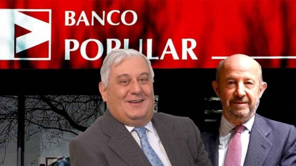 Fotomontaje con Antonio del Valle (i), financiero mexicano, y Emilio Saracho (d).