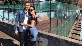 Cristiano y Georgina en la casa del luso. Foto: Instagram (@georginagio).