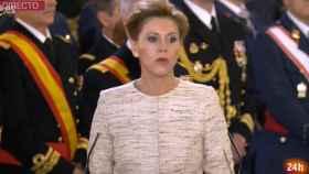 María Dolores Cospedal durante la Pascua Militar