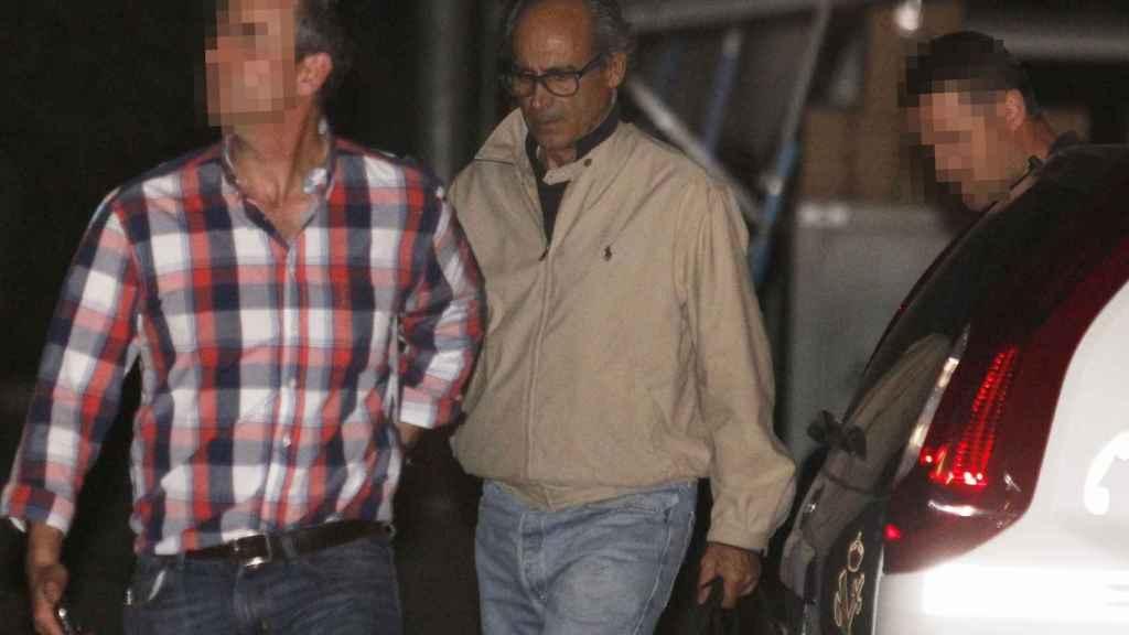 Edmundo Rodríguez Sobrino, el día de su detención en el marco de la Operación Lezo.