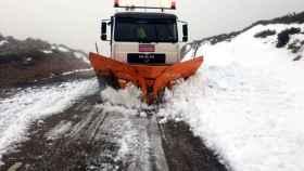 zamora nieve carretera alto vizcodillo (1)