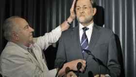 Mariano Rajoy en el Museo de cera de Madrid.