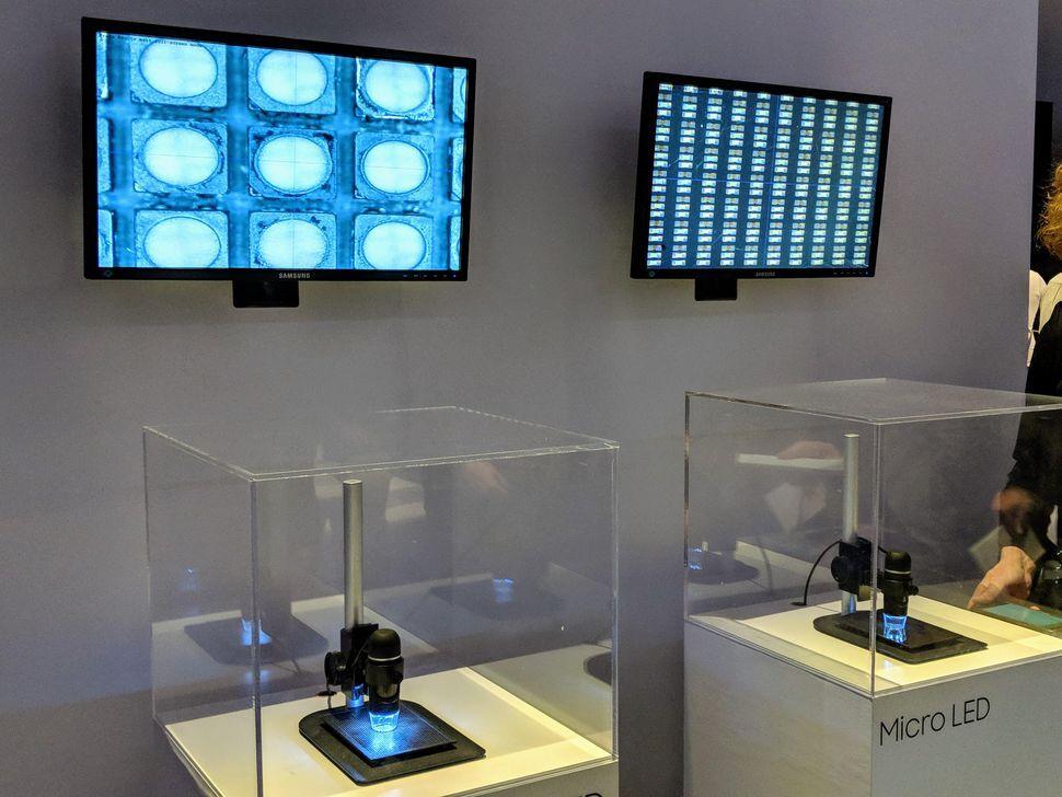 micro led samsung oled tecnologia pantalla