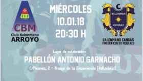 memorial antonio garnacho cartel balonmano 1