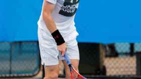 Murray, en un entrenamiento en Brisbane hace unos días