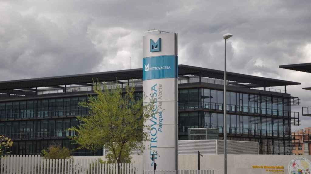 Imagen de la sede de Metrovacesa.