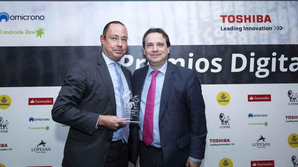 oracle big data premios digitales ee