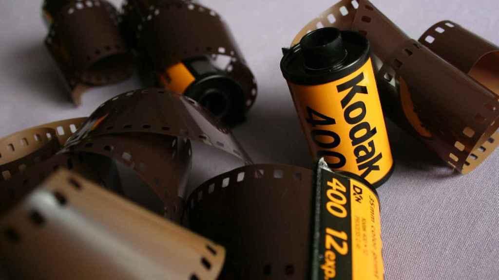 Carretes fotográficos de Kodak