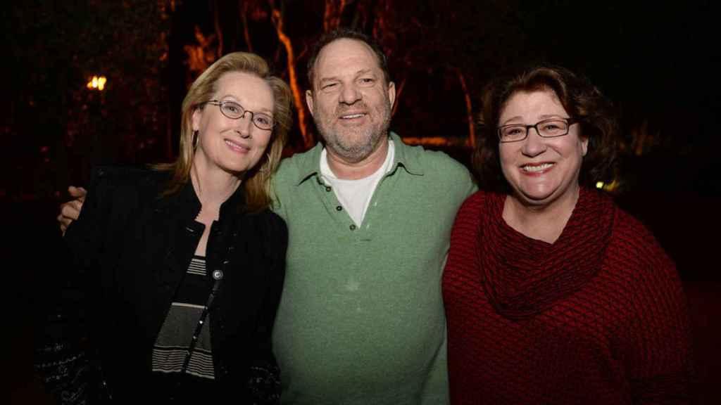 Meryl Streep con Weinstein.