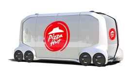 Pizza Hut desarrolla con Toyota un vehículo autónomo.