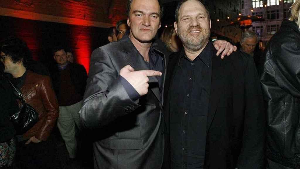 Cuando Tarantino era amigo de Weinstein.