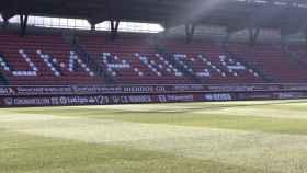 Estadio de Los Pajaritos. Foto: Twitter (@cdnumancia).