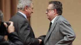 Miguel Herrero y Rodríguez de Miñón, este miércoles en el Congreso de los Diputados.