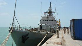 El suceso tuvo lugar a bordo del patrullero Infanta Cristina.